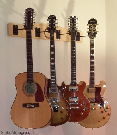 Light Your Guitar Wall Mount : Customer Pictures of Guitar Storage Products
