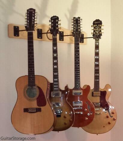 customer guitar storage pictures. Black Bedroom Furniture Sets. Home Design Ideas