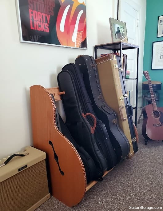 amplifier and guitar cases
