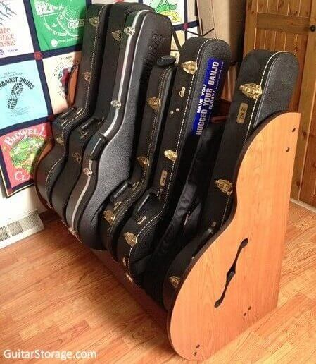 Banjo Case Storage!