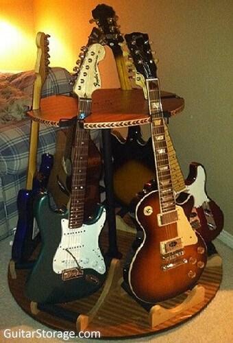 guitar carousel stand