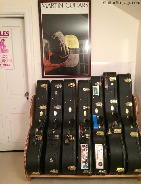 The Studio Deluxe Guitar Case Rack Guitarstorage Com