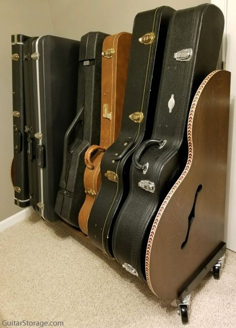 guitar rack on wheels