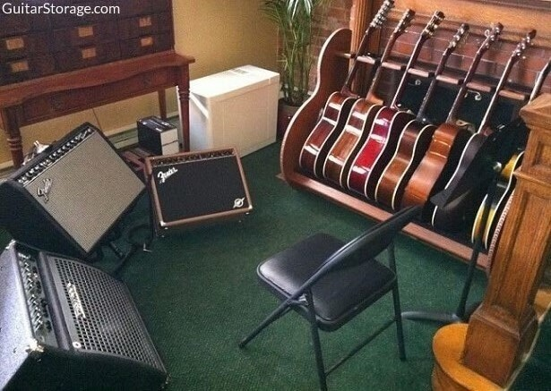 Guitar Room Storage
