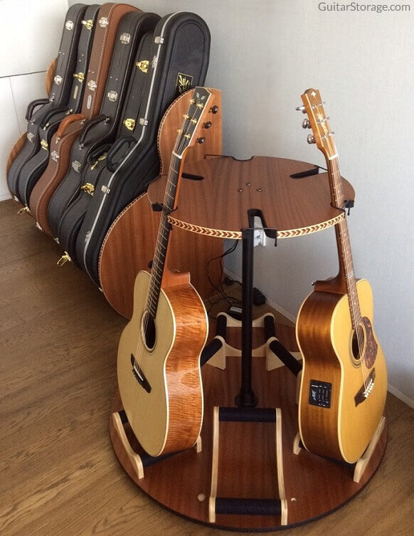 Guitar Room Organization