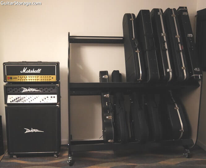 Guitar Room Shelves
