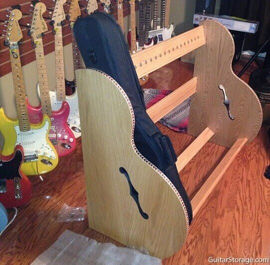 Music Studio Guitar Rack