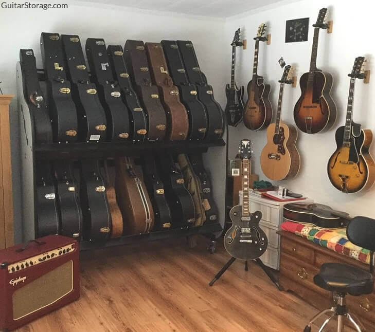 Shelves For Guitar Cases