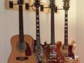 4 guitar wall mount