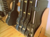 6 guitar case rack