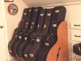 6 guitar case stand