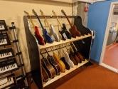 double decker guitar shelves