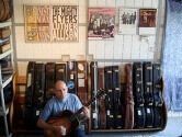 Alex Shultz and his Guitar Collection