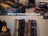 Spare Bedroom Guitar Storage