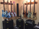 guitar and bass hangers