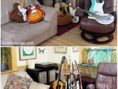 guitar room stand