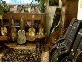 Multiple Guitar Case Racks save space!