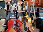 music store guitar stand