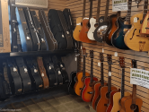 guitars in pawn shop
