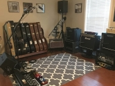 studio and amplifiers