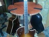 three guitar stand