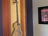 vintage guitar and poster