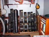 Studio Guitar Case Racks
