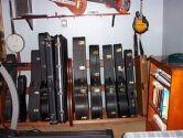 Studio Guitar Case Racks