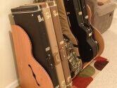 Wood Guitar Rack