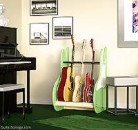 Three Guitar Rack