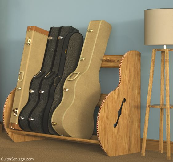 Guitar Case Storage