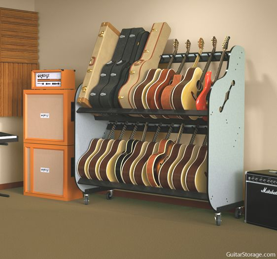 Heavy Duty Guitar Storage