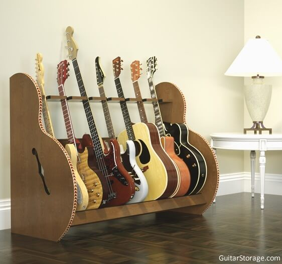 The Session Deluxe Multiple Guitar Stands