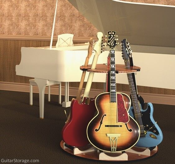 Revolving Guitar Stand