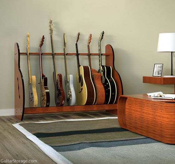 Seven Guitar Stand