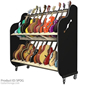 Session-Pro™ Double-Stack Mobile Guitar Rack
