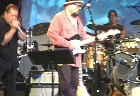Jimmy Vivino on guitar at Paul Butterfield Tribute concert