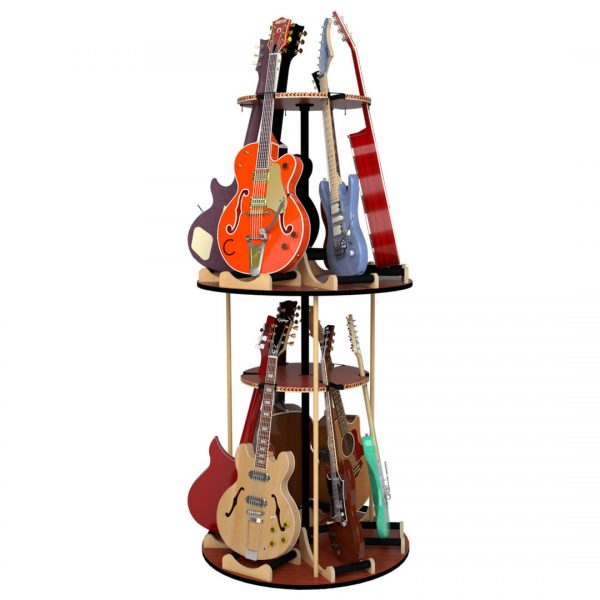 carousel twelve guitar stand