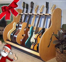 guitar stand for christmas