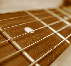 cleaning guitar fretboard