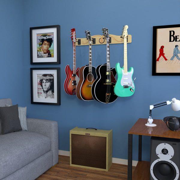 electric guitar wall hanger