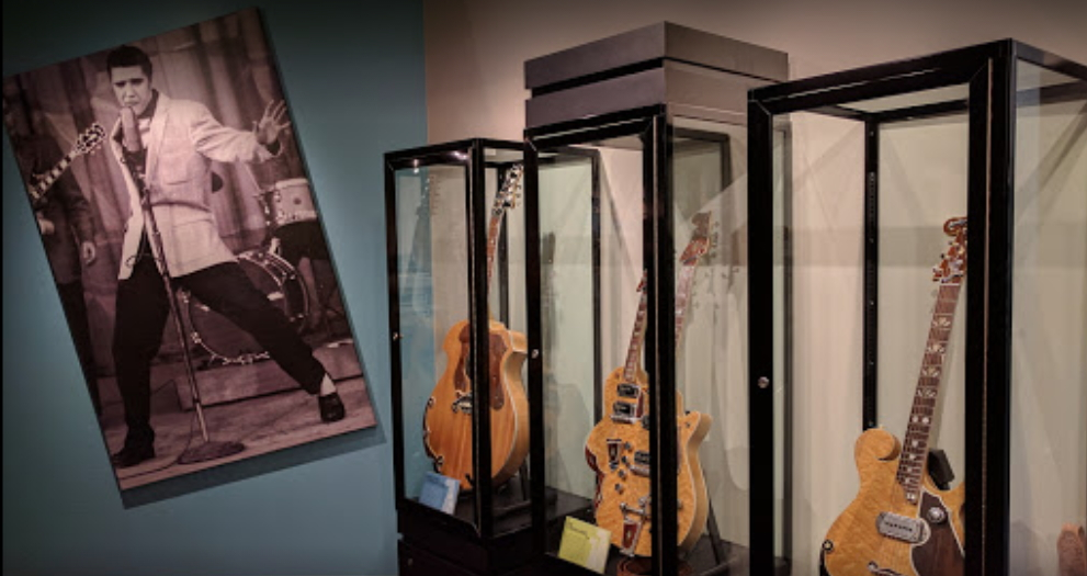 elvis guitars