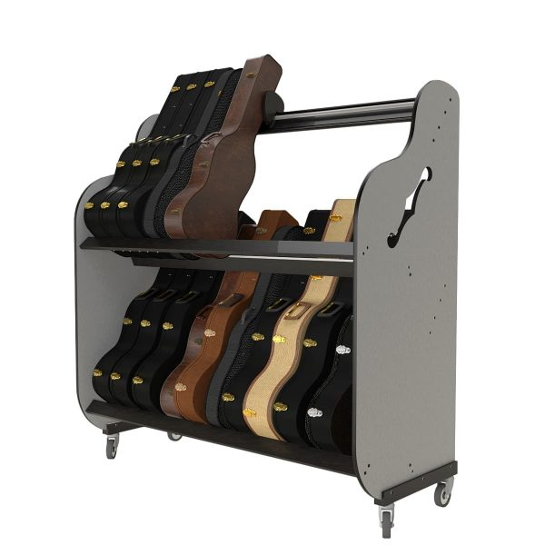 guitar case storage shelves
