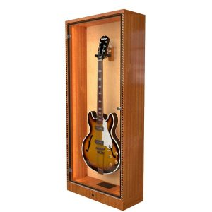 guitar humidifier display case