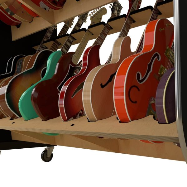 guitar shelf supports