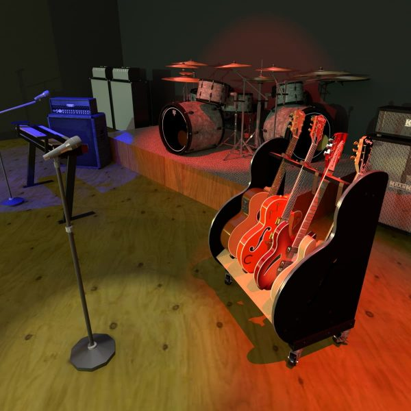 guitar stand for stages