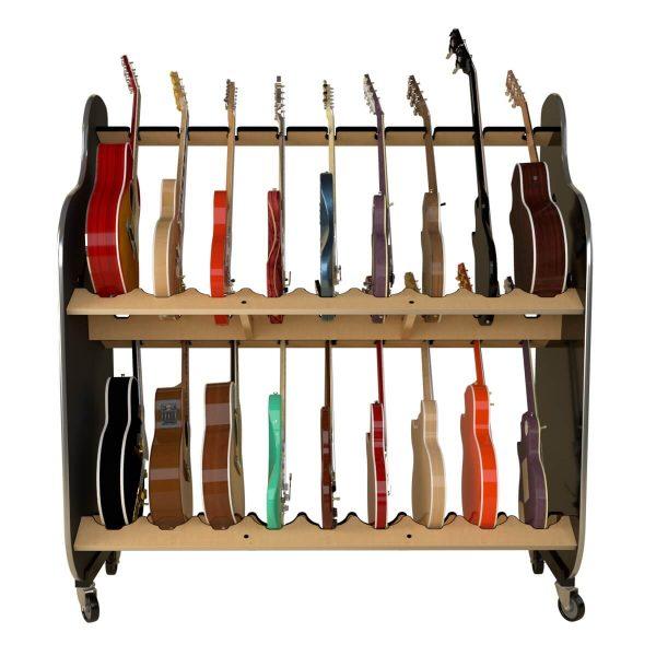 guitar storage shelves