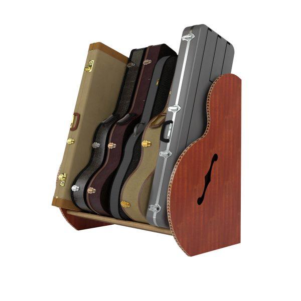 mahogany studio guitar case storack small