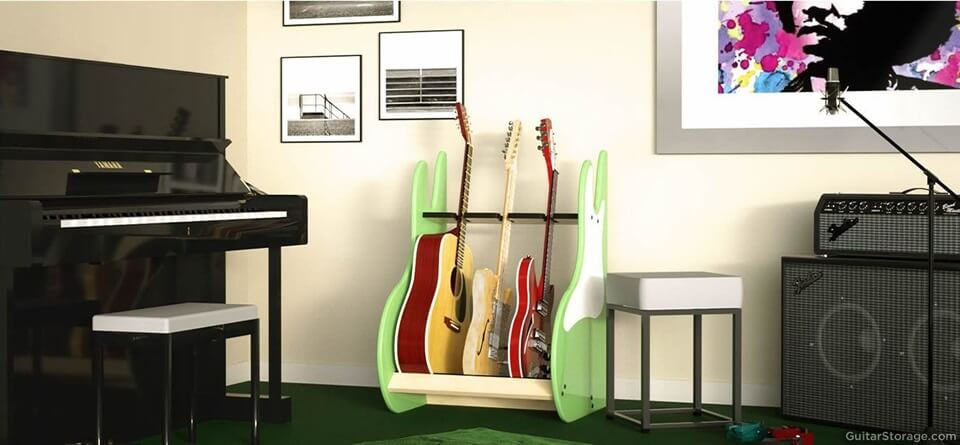 Three Guitar Stand
