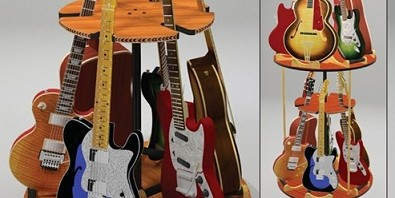 Carousel Multi Guitar Stand